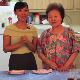 Cooking With Granny: Korean style pork belly
