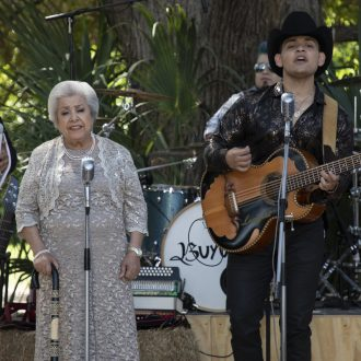 "Grandmother, 81, releases debut album with grandson and is nominated by Latin Grammys for ""Best Norteño Album"""